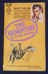 Donald Hamilton ~ THE REMOVERS ~ 1961 ~ Matt Helm #3