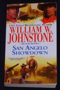 William W. Johnstone ~ SAN ANGELO SHOWDOWN ~ Blood Bond Pb