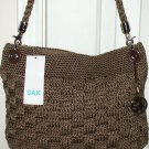 NWT THE SAK BRONZE KNIT HOBO HANDBAG/PURSE SR$64