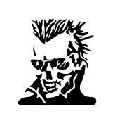 Skull Vinyl Auto Car Truck Window Decal Sticker #sku-007