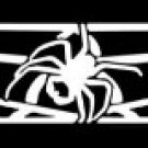 Spider & Web Windshield Decal #WD-001