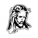 Jesus Portrait Window Decal Sticker #jesus001