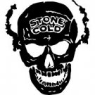 "Stone Cold Skull Vinyl Window Decal Sticker 6"" sku-032"