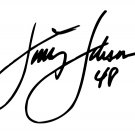 "4"" Jimmie Johnson Signature 48 Window Decal Sticker"