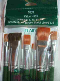 Donna Dewberry One Stroke 1059 Brush Set 10 Brushes