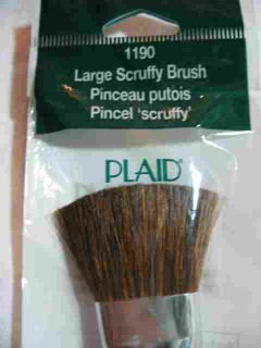 Donna Dewberry One Stroke 1190 Large Scruffy Brush Plaid