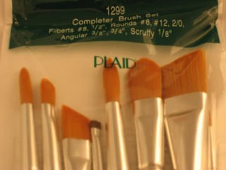 Donna Dewberry One Stroke 1299 Completer Brush Set of 8