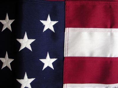 American flag 3 x 5' Heavy Cotton Sewn Residential US flag