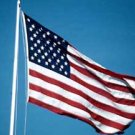 American flag 6 x 10' sewn ToughTex Polyester US flag