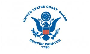 """US Coast Guard flag 12 x 18"""""""