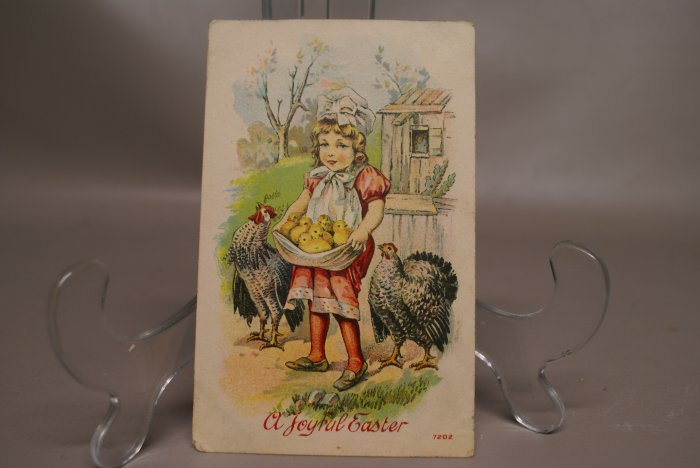 Victorian Easter Post Card