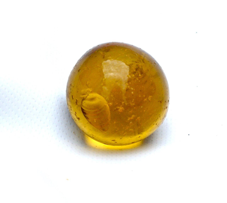 Vintage Akro Agate Rootbeer Shooter Marble