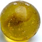 "Vintage 1"" Akro Agate Butterscotch Shooter Marble"