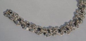 Vintage Rhinestone Bridal Bracelet c1950