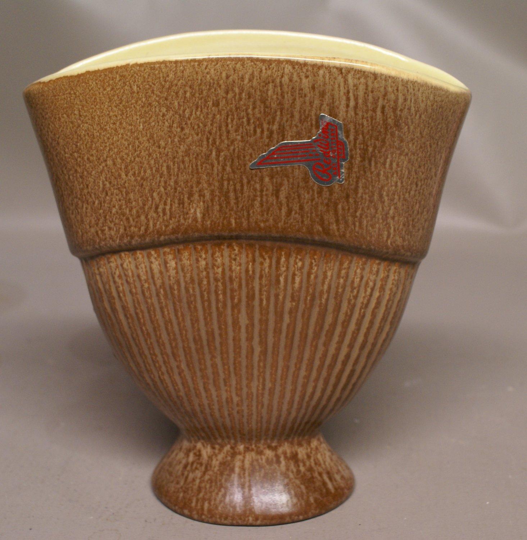 Vintage Red Wing Vase c1950