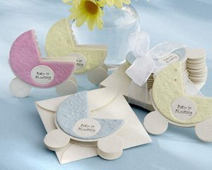Baby is Blooming Plantable Flower Baby Shower Favors (set of 12)