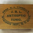 Prof Tyrrell's Hygienic Antiseptic Tonic Colon Enema Wood Box