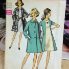 Simplicity Vintage Pattern #8591  New Unused, Factory Folded Size 40 Dress and Coat