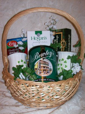 Irish Creme Coffee Basket