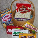 Movie Night Basket