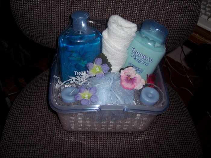 Luxury Bath Basket