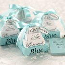 Something Old, New, Borrowed, and BLUE Note Favor Set (Set of 4)