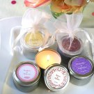 "Personalized ""Personality"" Travel Candles"