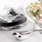 "The ""Love Dove"" Silver Chrome Bottle Opener in Elegant Oval Showcase Giftbox"