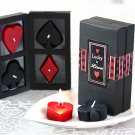 Lucky In Love - Four Suits Candle Set in Display Gift Box
