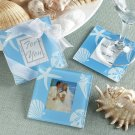 """Four Seasons"" Glass Photo Coasters - Summer"