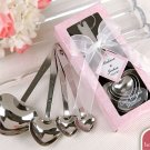 """Love Beyond Measure"" Spoons in Personality Box (20 styles/colors) (Set of 4 Favors)"