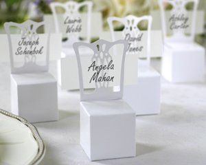 Miniature Chair Place Card Holder and Favor Box (set of 12)