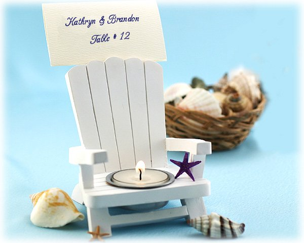 Adirondack Chair Tealight and Place Card Holder