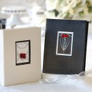 """Black Tie Affair"" Bride and Groom Photo Album Favors"