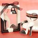 'Sleek and Chic' Leather Stiletto keychain