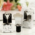 """I Do!"" ""I Do!"" Bride and Groom Bottle Stoppers"
