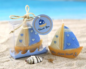"""The Love Boat"" Candle in Ocean Wave Gift Box"