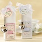 """Baby is Brewing"" Coffee Kit with Heart Scoops and Optional Personalized Tags"