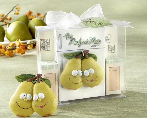 """The Perfect Pair"" Refrigerator Magnet in Retro Kitchen Gift Box"