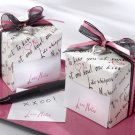 """Love Notes"" Sticky Notes in Nostalgic Dispenser Gift Box with Dainty Heart Charm"