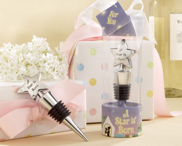 """A Star is Born"" Bottle Stopper in Adorable Showcase Display Box"