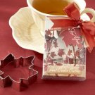 Fall Leaf Cookie Cutter in Autumn-Themed Gift Box