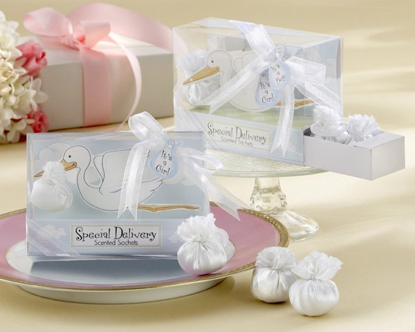 """Special Delivery"" Scented Sachets in Keepsake Secrets Drawer Giftbox"