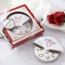 """""""A Slice of Love"""" Stainless-Steel Pizza Cutter in Miniature Pizza Box"""