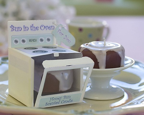 """""""Bun in the Oven"""" Scented Candle (Set of 4)"""