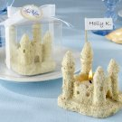 """Castles in the Sand"" Sand Castle Tea Light (Set of Four)"