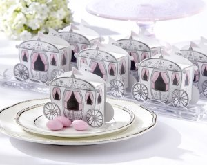 """""""Enchanted Carriage"""" Favor Boxes (Set of 24)"""