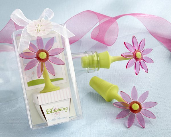 """Blooming"" Flower Bottle Stopper in Whimsical Window Gift Box"