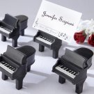 """Ain't Love Grand?"" Piano Place Card Holders with Cards (Set of Four)"