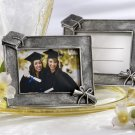 """Graduations"" Antique-Finish Photo Frame/Place Card Holder (Set of Four)"
